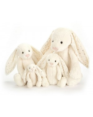 Peluche Lapin timide blanc...