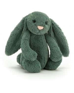 Peluche Lapin timide vert...