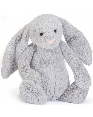 Peluche lapin timide silver...