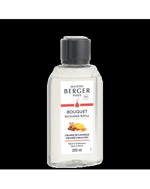Recharge pour bouquet parfumé Orange de Cannelle - Maison Berger