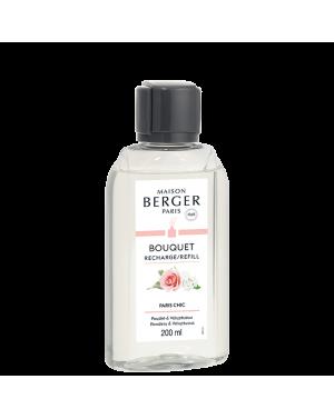 Recharge pour bouquet parfumé Paris chic - Maison Berger
