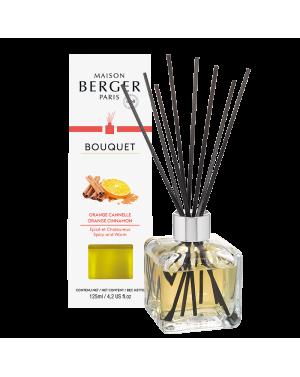 Bouquet parfumé cube Orange de cannelle - Maison Berger