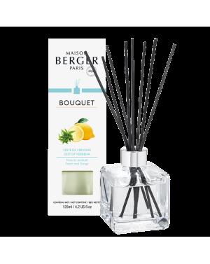 Bouquet parfumé cube Zeste de verveine - Maison Berger