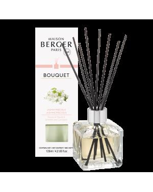 Bouquet parfumé cube Jasmin précieux - Maison Berger
