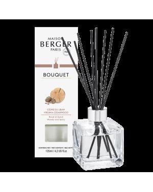 Bouquet parfumé cube Cèdre du Liban - Maison Berger