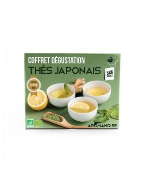 Coffret de thé bio Japonais - Aromandise
