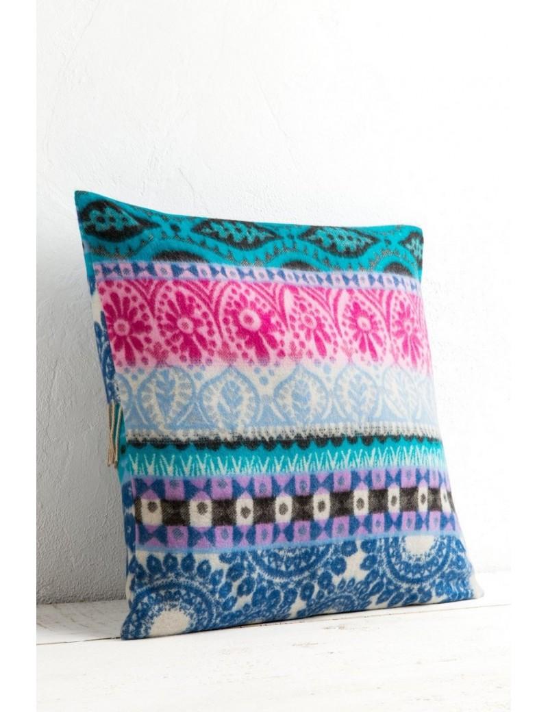 Coussin carré Folk blanket 40x40cm - Desigual