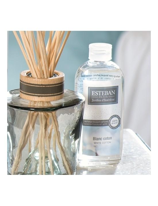 Recharge pour bouquet parfumé Blanc coton - Esteban
