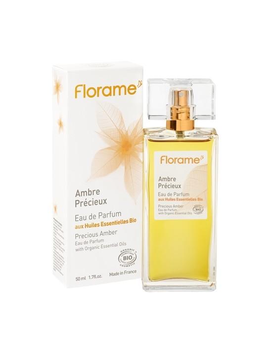 Eau de parfum Ambre Précieux bio 50ml - Florame