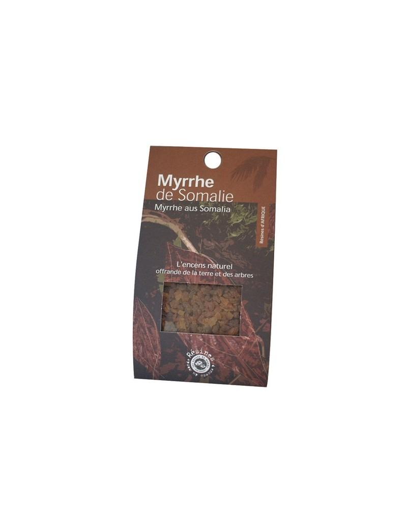 Myrrhe de Somalien - Encens naturel en résine - Florisens