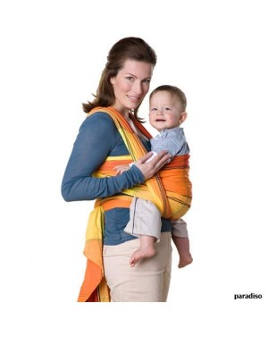 Porte bébé en échanrpe Paradiso - Amazonas