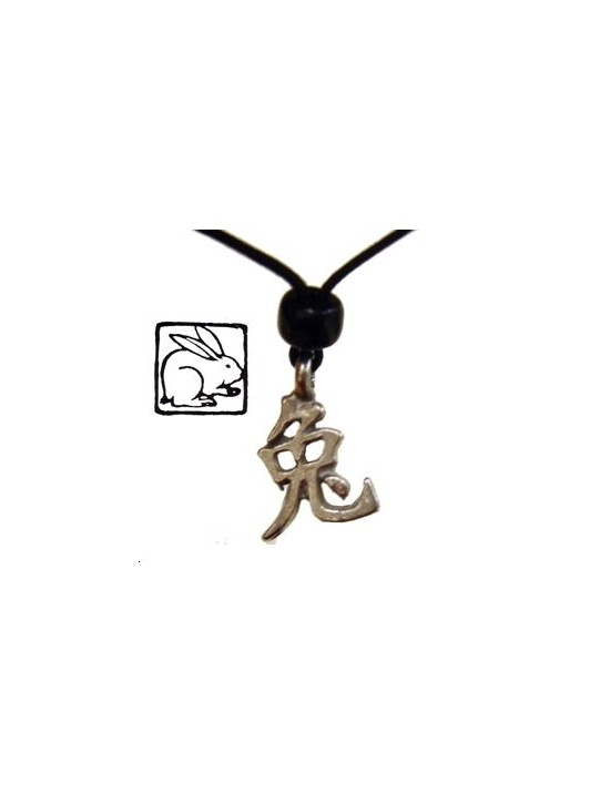 COLLIER HOROSCOPE CHINOIS LIEVRE
