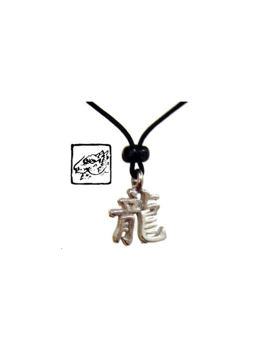 Collier horoscope chinois - signe du Dragon