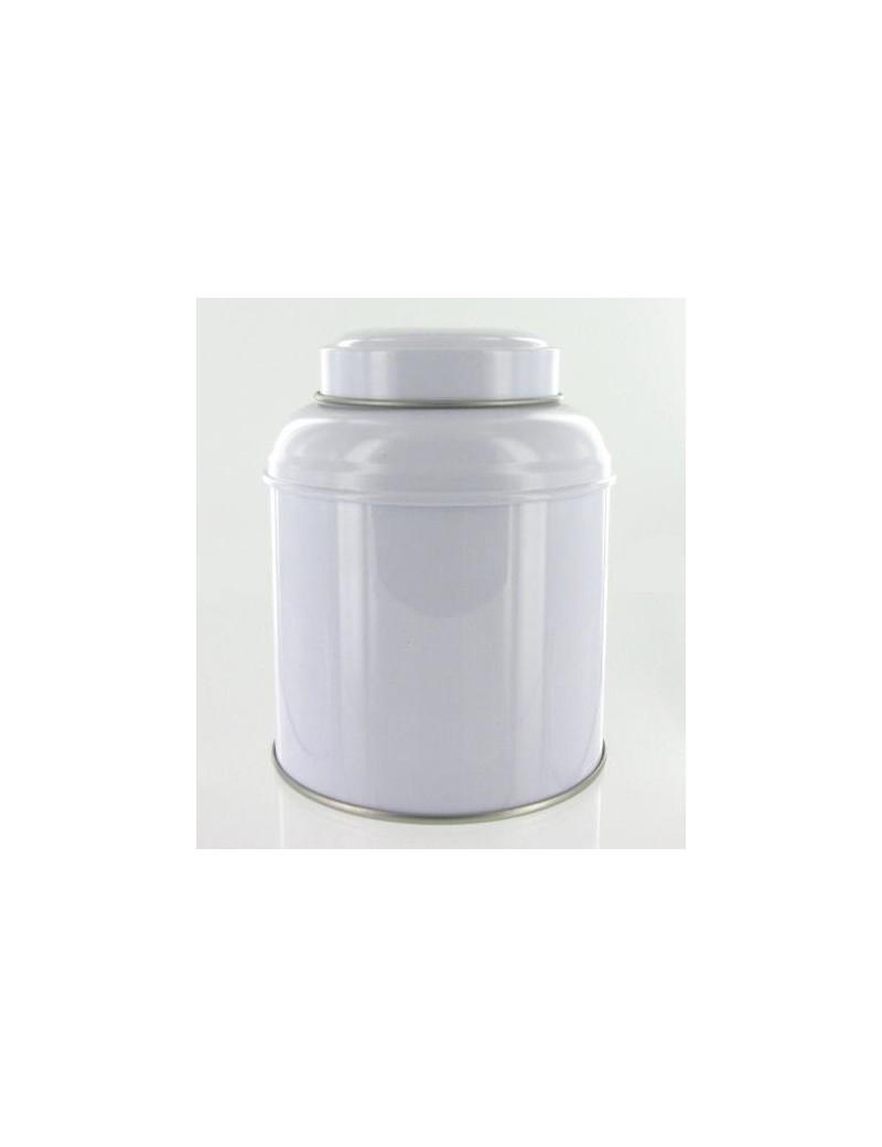 Boite à thé dôme blanche