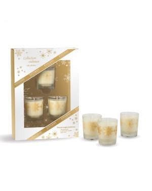 Coffret cadeau Trio de bougies de fête - Esteban