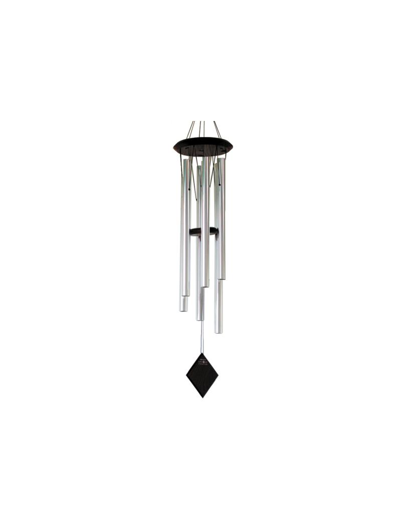 Carillon Terre argenté 96cm - Woodstck Chimes