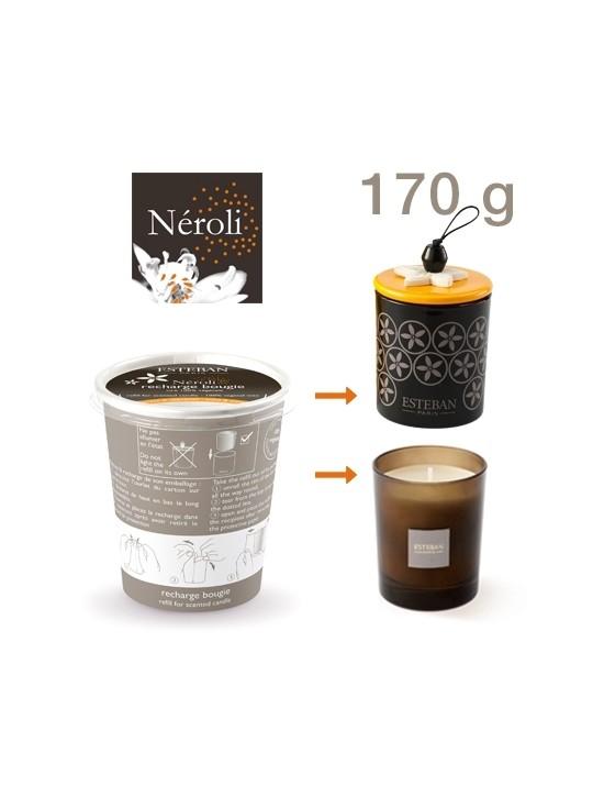 Recharge pour bougie parfumée Néroli - Esteban