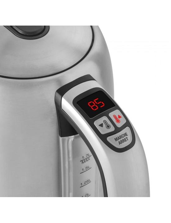 Bouilloire à température variable Serena blanc nacré 1,7L - Riviera  et  Bar