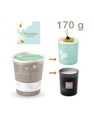 Recharge pour bougie parfumée Orchidée Blanche - Esteban
