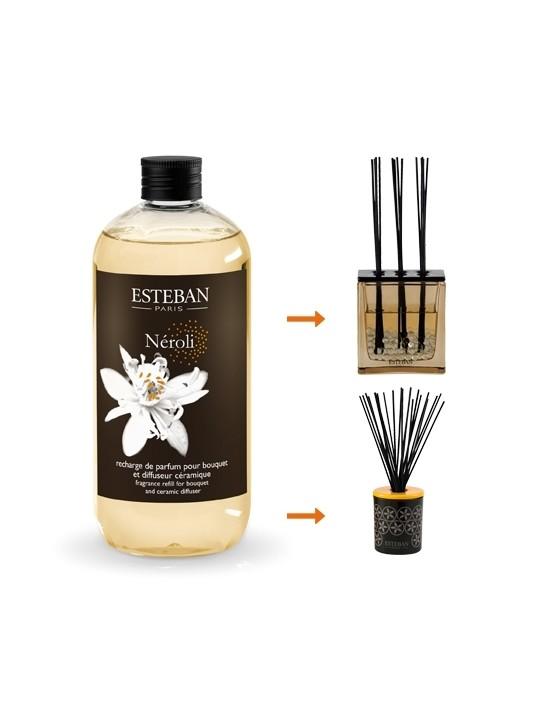Recharge pour bouquet parfuméNéroli 500ml - Esteban