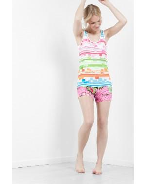 Tee-shirt sans manche de pyjama Mojito Taille L/XL - Desigual