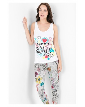 Tee-shirt bretelles Bolimania Taille L/XL - Desigual