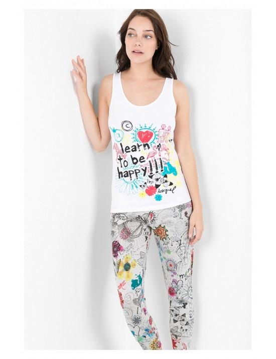 Tee-shirt bretelles Bolimania Taille L/XL - Desigual