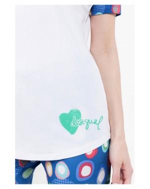 Tee-shirt de pyjama Manolos - Desigual