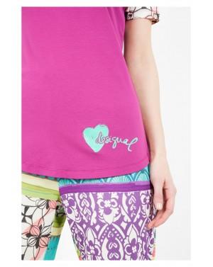 Tee-shirt de pyjama Botanical dream - Desigual