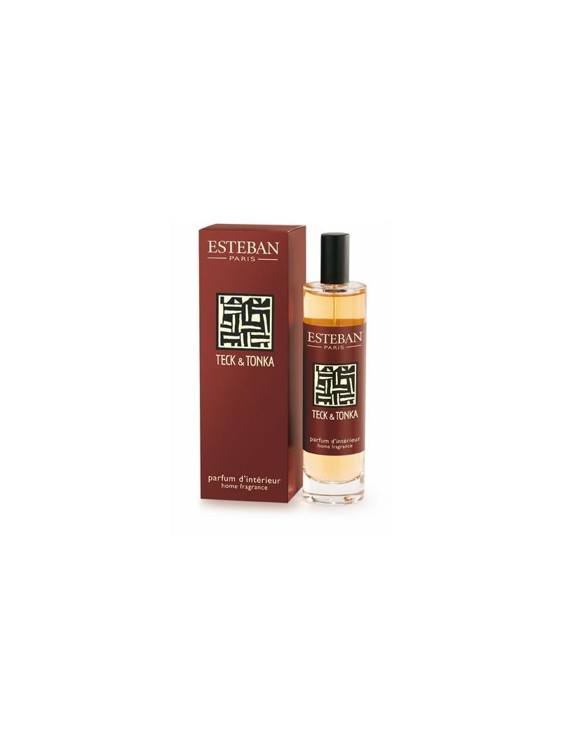 Vaporisateur de parfum Teck et Tonka - Esteban