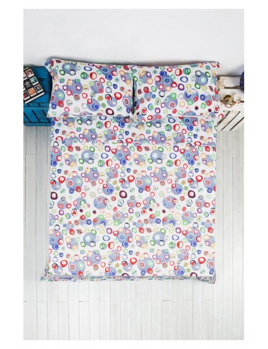 Drap pour lit Blue summer + 2 taies d'oreiller - Desigual