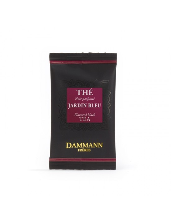 Thé noir Jardin bleu en sachet emballé - Dammann frères
