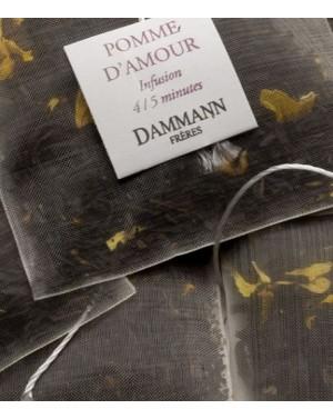 Thé noir Pomme d'amour en sachet emballé - Dammann frères