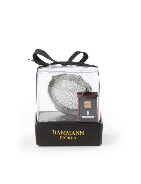 Boule à thé tamis avec boite Tin D4,5cm