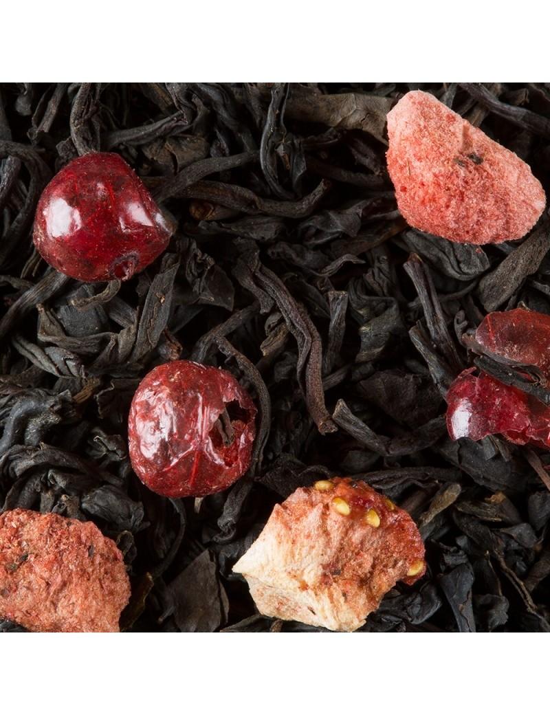 Thé quatre fruits rouges - Dammann frères