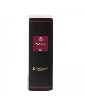 Thé noir à la vanille en sachet emballé - Dammann frères