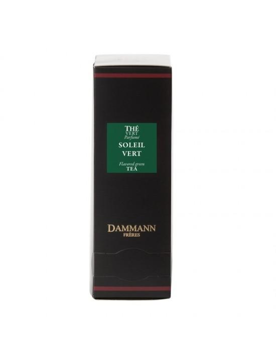 Thé vert soleil vert en sachet emballé - Dammann frères