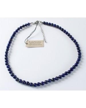 Collier perles en Lapis lazuli