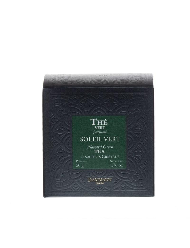 Thé vert Soleil vert en sachet - Dammann frères