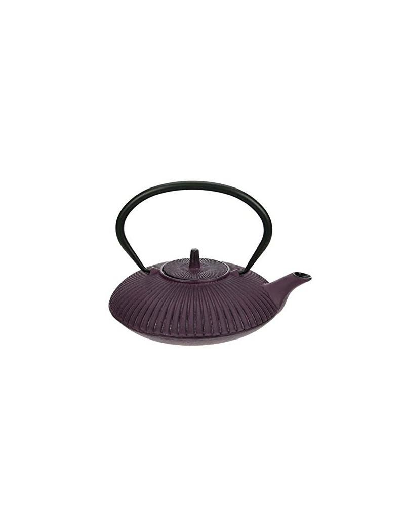 Théière en fonte umbrella violet 0,8L
