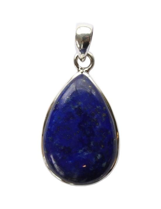 Pendentif en argent Lapis lazuli