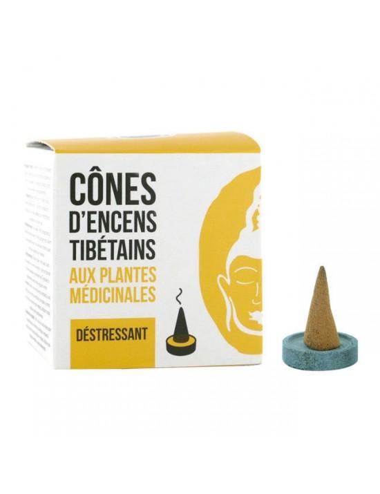 Encens cônes tibétain Déstressant - Florisens