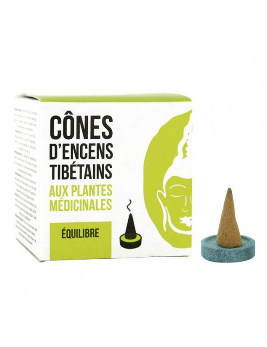 Encens cônes tibétain Équilibre - Florisens