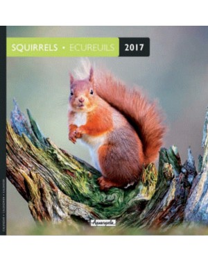 Calendrier 2017 - Ecureuils - Aquarupella