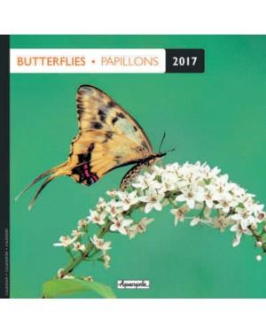 Calendrier 2017 - Papillons - Aquarupella