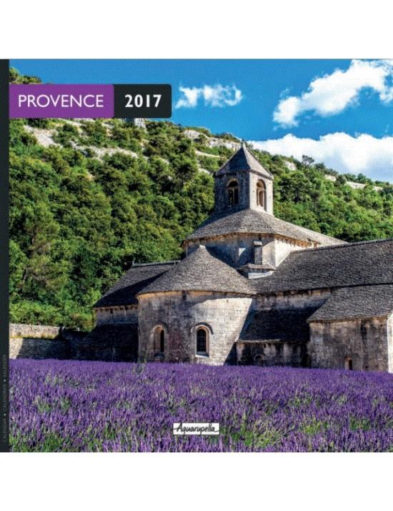 Calendrier 2017 - Provence - Aquarupella