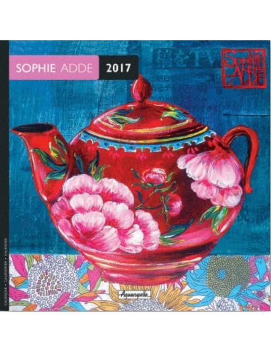 Calendrier 2017 - Sophie Adde - Aquarupella