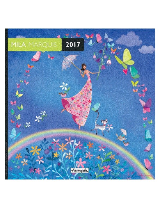 Calendrier 2017 - Mila Marquis - Aquarupella
