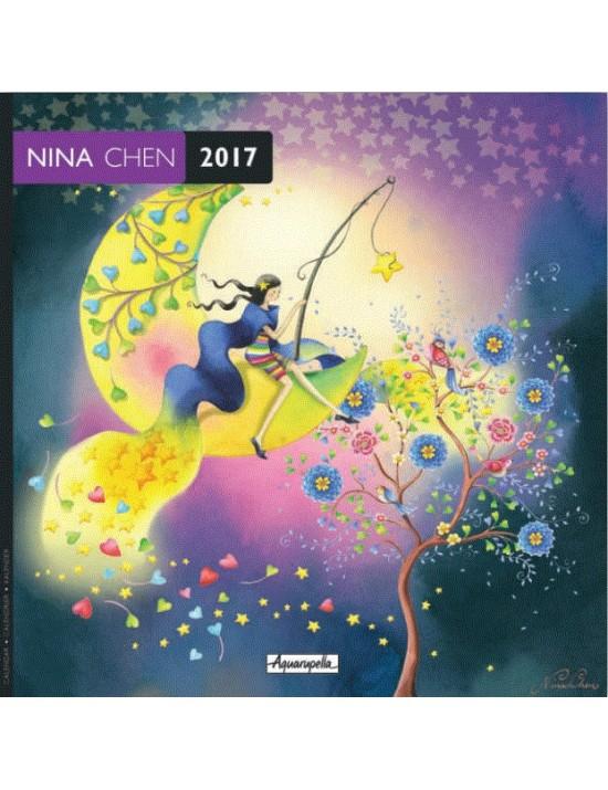 Calendrier 2017 - Nina Chen - Aquarupella