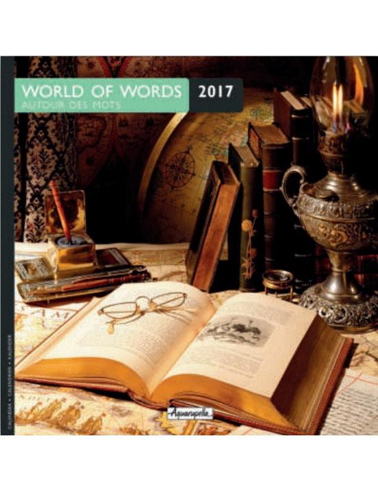 Calendrier 2017 - Autour des mots - Aquarupella